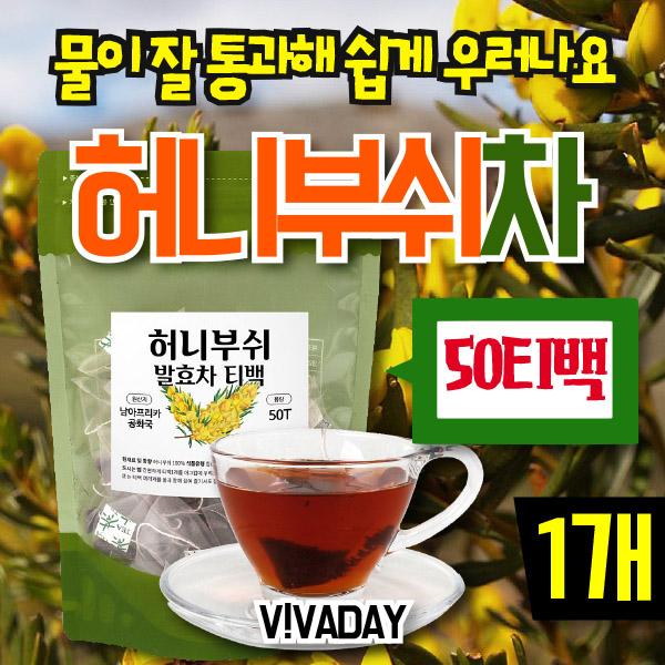 [DAY] 허니부쉬차 50티백 1팩