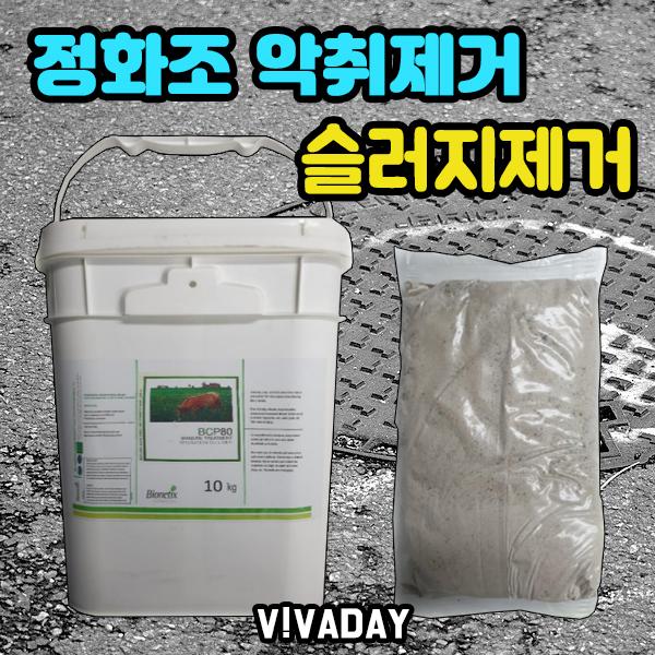 깨끗하고 빠른관리 미생물 정화조 관리제 10kg