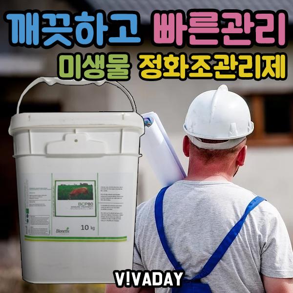 수질관리 하수처리장 미생물 정화조 관리제 10kg